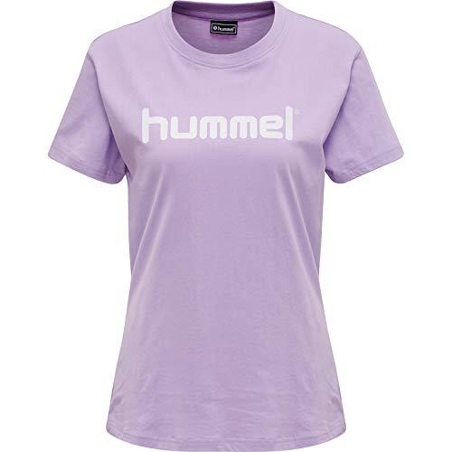 Hummel Damen HMLGO Cotton Logo T-Shirt Woman S/S, Size L