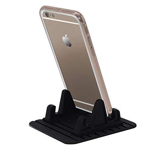 Autotelefoon mount Car beugel Extra Slim Universal stok op een vlakke Dashboard Smartphone Magnetic Car Mount Holder mobiele telefoon houders voor auto's