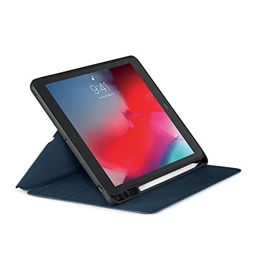 aiino Elite Custodia per iPad Air 10.5 2019 /iPad PRO 10.5 / iPad 10.2 19-20 con porta ApplePencil, Blocco/sblocco Schermo Automatica per iPad PRO 10.5 2017-2019 / iPad 10.2 19-20 iPad Air 10.5-Blu