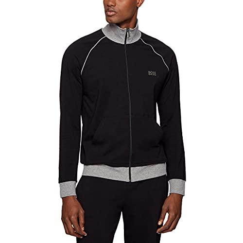 BOSS Mix&Match Jacket Z Sudadera, Negro (Black 1), Small para Hombre