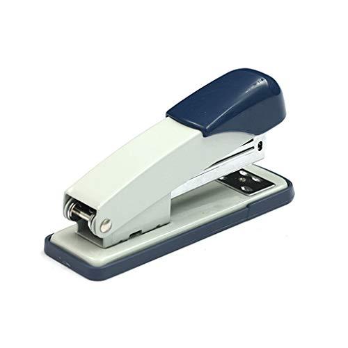 Grapadoras para Escritorio Oficina grapadora,máquina de encuadernación de escritorio,Azul de escritorio papelería,de gran capacidad,ahorro de trabajo Tipo,Usado accesorios de escritorio Grapadoras Man