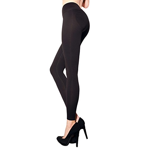 Shapewear Leggins Fit Push Up Effect M schwarz