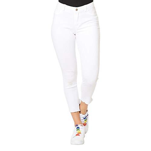 Pantalones Blancos  marca INCÓGNITA