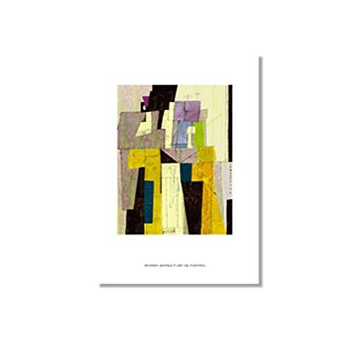 Crazystore Druck auf Leinwand 50x70cm ohne Rahmen Matisse Vintage Poster Drucke Abstrakte Figur Wandkunst Bildergalerie Wohnzimmer Interieur Moderne Wohnkultur