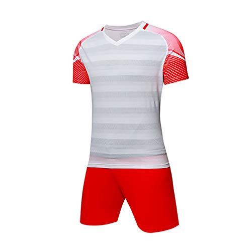 Nicht gelten Fußballuniformen, Herren und Kinder Fußballuniformen, Wettkampftraining Team Trikots -  Weiß -  Medium