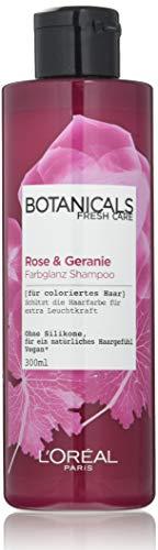 L'Oréal Paris Botanicals Fresh Care Rose Und Geranie Farbglanz Shampoo, 1er Pack(1 x 300 ml)