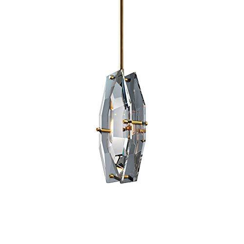 AOYYOO Lámpara Colgante Pequeña De Interior. E14 Interfaz Universal (sin Bombilla) Lámpara De Araña De Cristal. Accesorios De Iluminación Decorativos De Pared De Fondo De Sala De Estar.