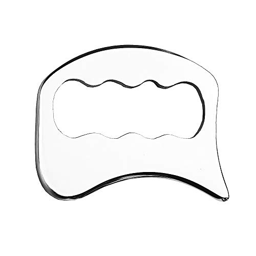 FeelFree Sport Stainless Steel Gua Sha Tools-Massage Scraping Tool for Soft Tissue Mobilization,Physical Therapy for Back, Legs, Arms