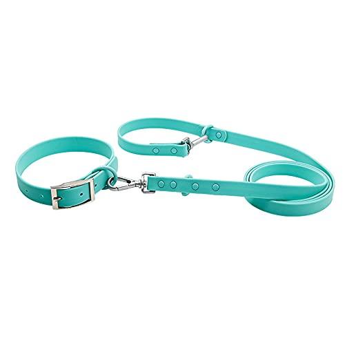 Collar para Perro, Hecho de PVC e imitación de Silicona Suave, con Hebilla Ajustable, Adecuado para Todo Tipo de Mascotas, L (21.2in * 0.9in * 0.2in)