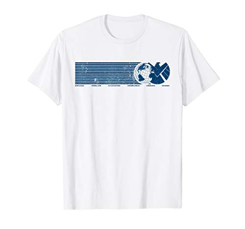 Marvel Agents of S.H.I.E.L.D. Eagle Globe Logo T-Shirt