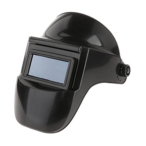 Milageto Máscara de casco de soldadura de soldador profesional Máscara protectora de soldadura eléctrica Lente de casco para soldador