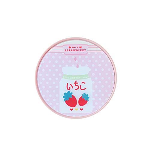 GLLP Bella pupila Caja de Almacenamiento Linda Chica Fresa Rosada Linda del corazón Cuidado Portable Simple Caja Invisible (Color : B)