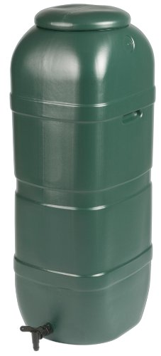Strata Products Ltd Ward - GN334, Bidone di Raccolta dell'Acqua piovana, con Rubinetto e Coperchio, 100 l