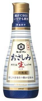 おさしみ生しょうゆ 200ml /キッコーマン(1本)