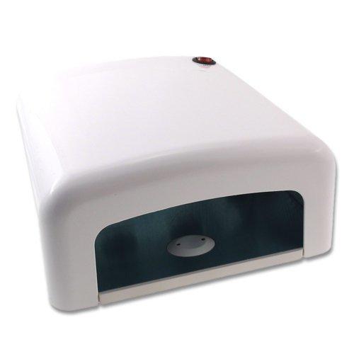 Laron S2106W Nagel Lichhärtegerät UV Lampe 36W Einschaltautomatik durch infrarot Sensor