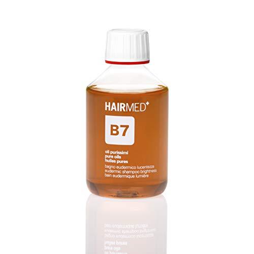 HAIRMED - B7 Shampoo Argan, Macadamia e Jojoba - Restituisce Lucentezza ai Capelli Colorati e Trattati - 200 ml
