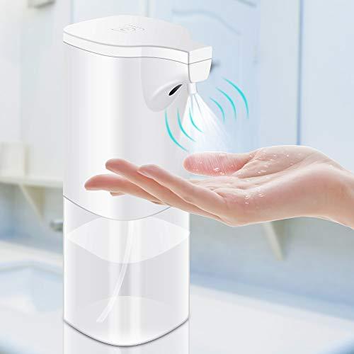unibelin Dispensador Automático de Alcoholsin Dispensador Automático de desinfección con Sensor 350ml Rociador de Alcohol sin Contacto para el hogar, la Oficina, el Hotel, el Hospital