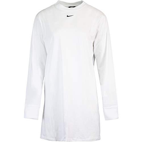 Nike Vestido esencial. blanco M