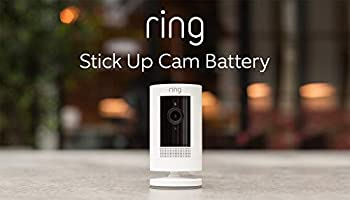 All-new Ring Stick Up Cam Battery | HD security camera with Two-Way Talk, Works with Alexa | With 30-day free trial of...