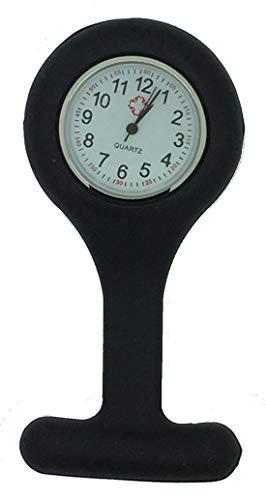 BelongsU Krankenschwester-Uhr, Nurse Fob-Uhr, Stilluhr, Clip-Uhr, Revers-Uhr, Krankenschwester-Taschenuhr mit gebrauchtem Zeiger, Clip-on-Pflege-Uhr für Frauen Männer