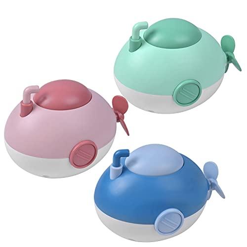 NATUCE Baby Badespielzeug Wasserspielzeug, 3 STK Badespielzeug U-Boot, Schwimmende Baden Spielzeug, Spielzeug Badewanne Uhrwerk, Schwimmbad Spielzeug Kleinkinder für 1 2 3 Jahre Jungen Mädchen