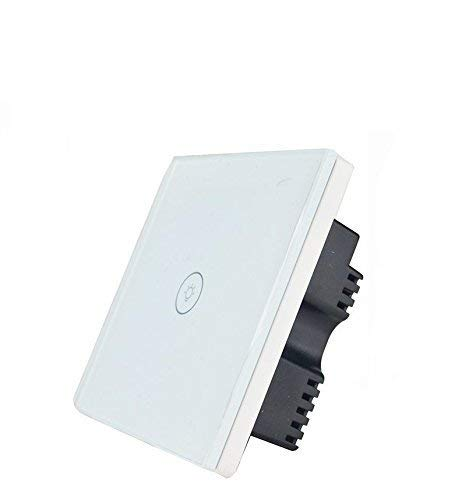 Interruptor inteligente de pantalla táctil de cristal para adultescentes, con wifi,...