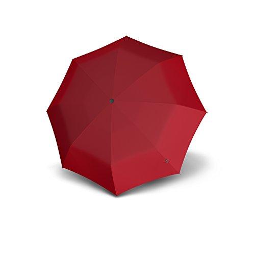 Knirps Flat Duomatic, Red (Rot), Länge ca. 26,5 cm, Breite ca. 5 cm, Höhe ca. 3 cm