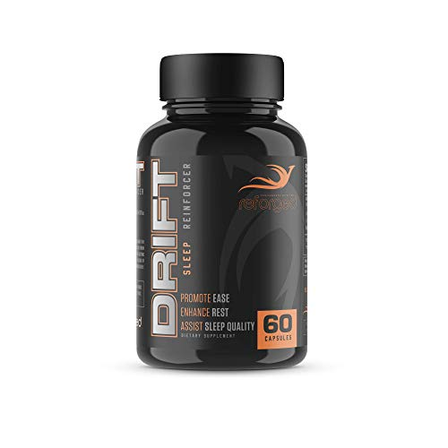 Reforged Drift   Nootropic Sleep Aid   Stress & Anxiety Relief w/Melatonin, Magnesium, L-Theanine, & L-Glycine   60 Capsules