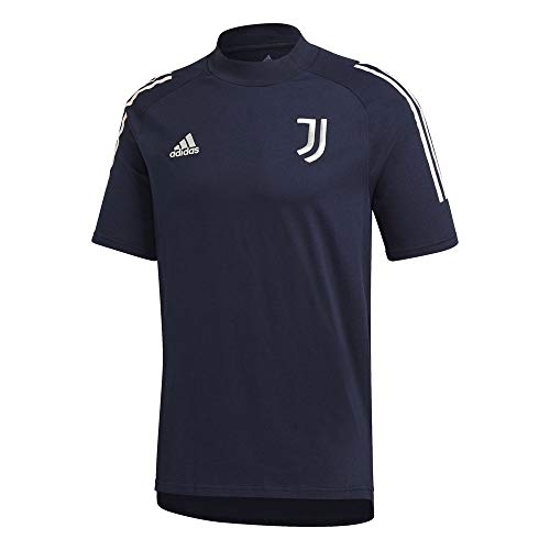 adidas Juventus FC Temporada 2020/21 JUVE tee Camiseta, Unisex, Legend Ink/Orbit Grey, XL