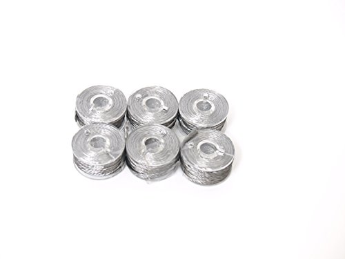 Conductive Stainless Steel Thread. 6 Pack Perfect for Hand Sewing. Works with Grounding Earth Connection Fabrics. Wearables, RFID and EMF Fabrics