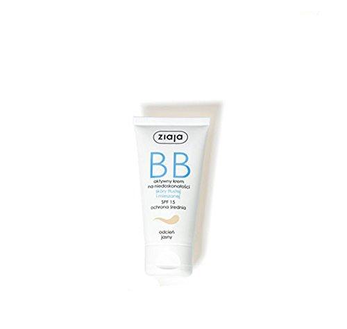 Ziaja BB Creme für fettige Haut und Mischhaut Creme, hell, 50 ml