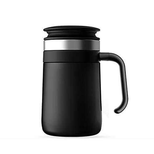 YAzNdom Thermos Cup Reizen Dubbele Muur Voedsel RVS Koffie Mok Vacuüm Isolatie Retro Water Fles 450 ML voor Middeleeuwen Isolatie Cup
