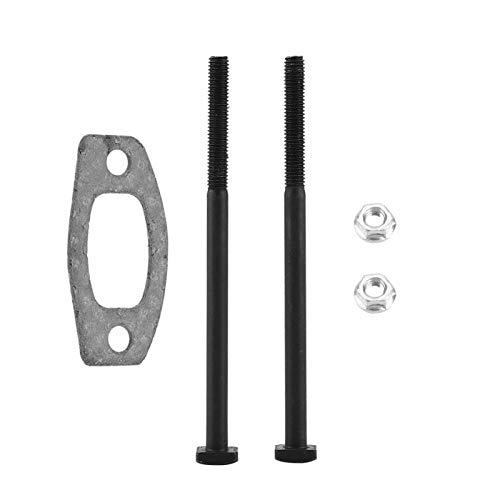 Langlebiger Schalldämpfer aus massivem Metall Material Schalldämpfer-Dichtungssatz zur Verbesserung der Maschinenleistung für Husqvarna 50