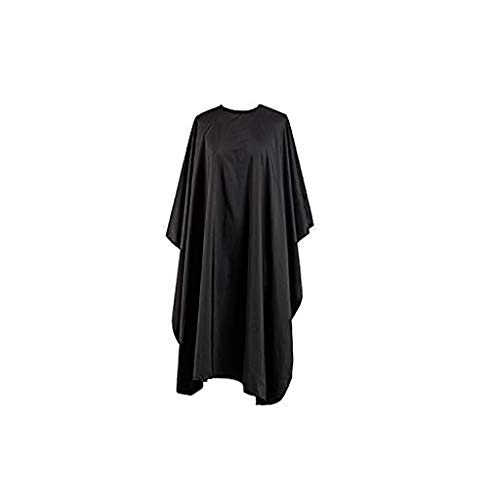 Black Cloth Professional Hair Salon Nylon Shawl with Snap Closure Throws/Bed Blanket
