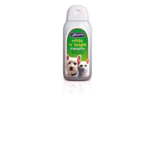 Johnsons Vet White 'n' Bright Shampooing 200 ml