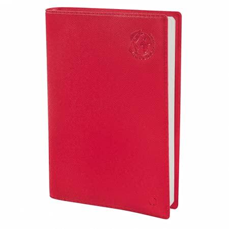Quo Vadis - Agenda Semainier Universitaire 10 x 15 cm EQUOLOGY Coloris Rouge - Août 2021 à Août 2022