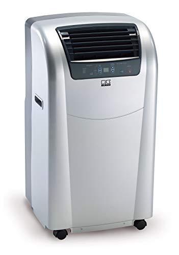 REMKO Raumklimagerät RKL 300 Eco, silber (Klimagerät für ca. 90m³, Kühlleistung 3,1 Kw, incl. Fernbedienung) 1616301