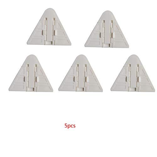 5pcs / set schuifdeur Sloten voor de Veiligheid van de baby kinderslot voor schuifwandkast kabinet kastdeuren Patio Glass Windows