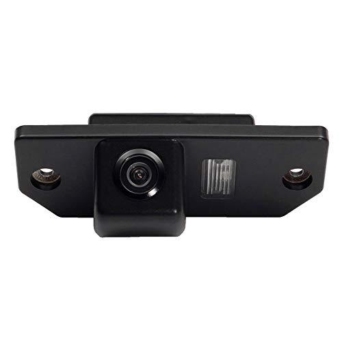 HD 720p Telecamera per la retromarcia Telecamera Posteriore Retrocamera Impermeabile Fotocamera Visione Notturna per Ford Mondeo Mk3 Mk4 Ford Focus Sedan (2) (3) Sedan C-Max