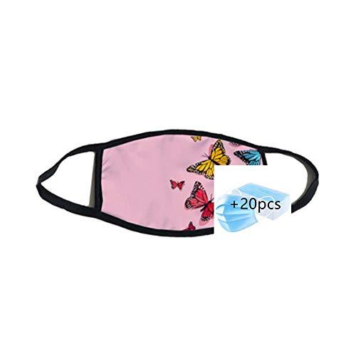 fashioncase Best Neck Gaiter Summer Cooling Face Scarf Mask Dust Sun Protection +20pcs