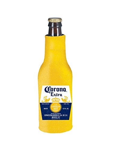 Corona Extra Beer Bottle Suit Holder Cooler Kaddy Huggie Coolie