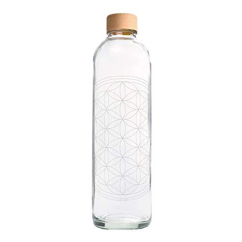 Carrybottles Trinkflasche Glas 1,0 l | Sportflasche, Wasserflasche | BPA-frei, auslaufsicher & kohlensäuregeeignet | Plastikfrei & nachhaltig produziert | Made in Germany