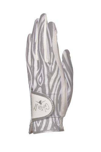 Glove It - Guantes de golf para mujer, color plateado