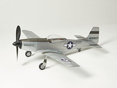 P51D-MUSTANG fliegendes Modell: Balsa Holz Flugzeug Kit von Vintage Model Co