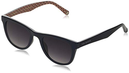 Ted Baker Sunglasses Heren Dirk Zonnebril, Navy, 50/22-145