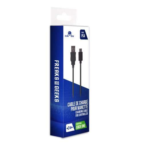 Câble de Recharge manette pour PS4/Xbox One/Mobile - 3 m