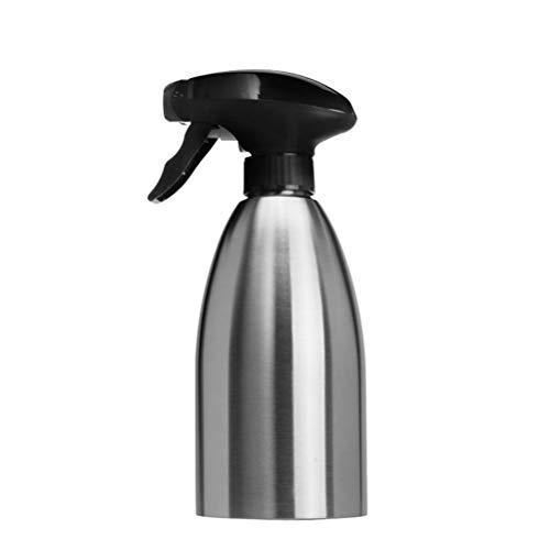 Kylewo Pulverizador de Aceite de vinagre Bomba Atomizador de Aceite Atomizador de vinagre Botellas de Acero Inoxidable - Rociador de Aceite de Barbacoa de Acero Inoxidable - 500ml