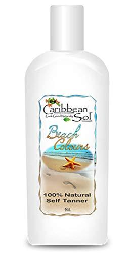 Caribbean Solutions Beach Colours, Natural Self Tanner, 6 oz