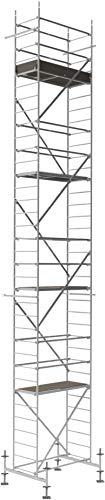 ALTEC Rollfix 1000, Arbeitshöhe 10 m neu, inkl. Traverse, höhenverstellbarer Fußplatten und Wandanker,