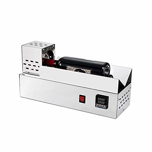 Máquina de encogimiento de cápsulas de PVC eléctrica Máquina termostática de encogimiento de tapas de botella de vino Pantalla digital termostática para cápsulas de PVC de 80 mm de diámetro máximo